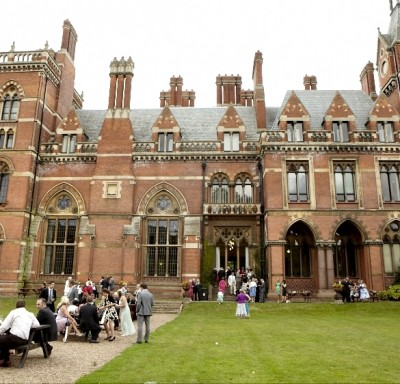 Kelham Hall drinks outside