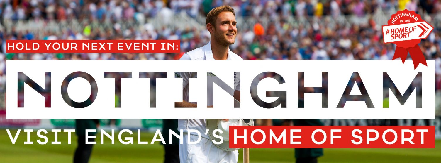 We Won – Nottingham is Officially England's Home of Sport!