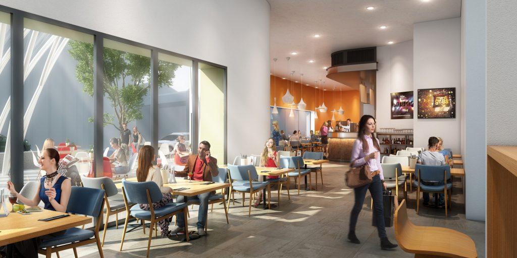TRCH Cafe Bar interior
