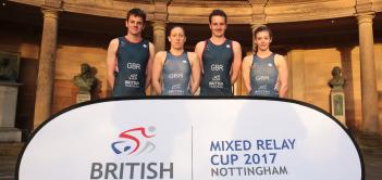 british triathlon mixed relay cup 2017 nottingham