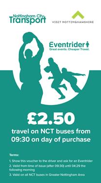 event ticket nottingham