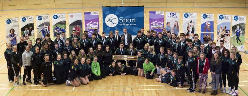 AOC College Games Tyneside Closing Ceremony