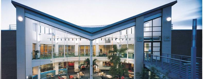 EMCC Atrium exterior