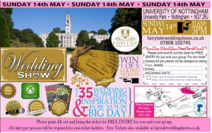 Nottingham Conferences wedding show