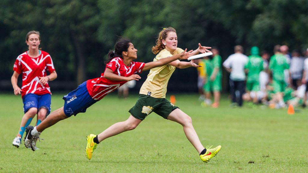 Rupal Ghelani (Great Britain U19 Women #74) Australia U19 Women Highlights from Tuesday of the World Junior Ultimate Champs (WJUC2014) in Lecco, Italy
