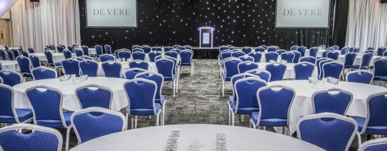 EMCC - Banqueting Suite - Cabaret
