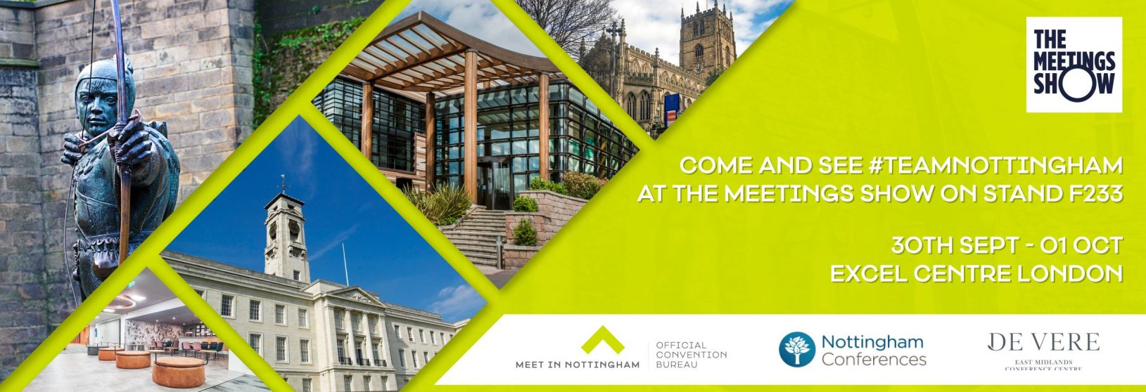 Team Nottingham at The Meetings Show